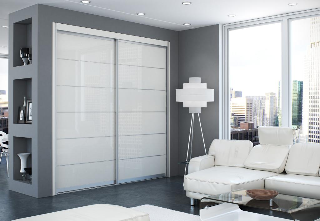A Sliding Closet Door